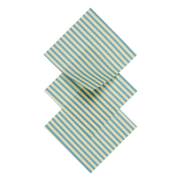Bienenwachstuch S Aqua