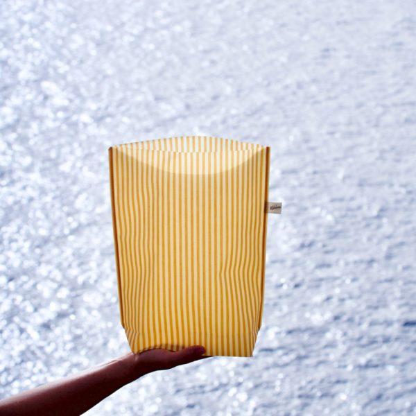 Honey Wachstuchbeutel L